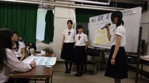 葺合高校ワークショップ画像5