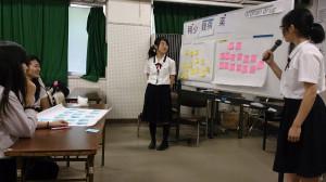 葺合高校ワークショップ画像4